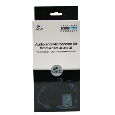 Cardo Srak0021 Audio ve Mikrafon Set (Q1-Q3)