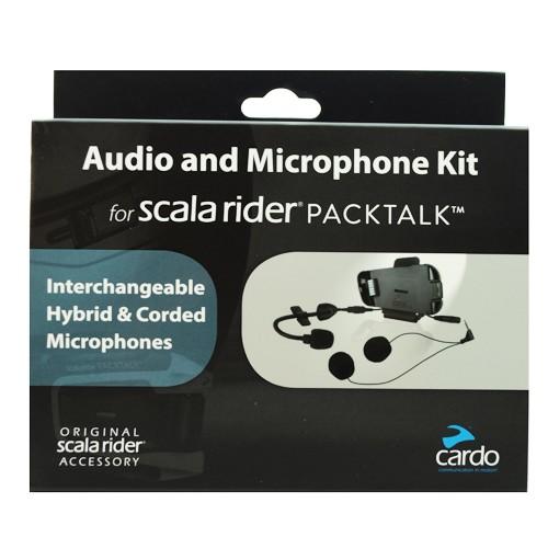 Cardo Spak0032 (Packtalk - Smartpack) Audio ve Mikrafon Set