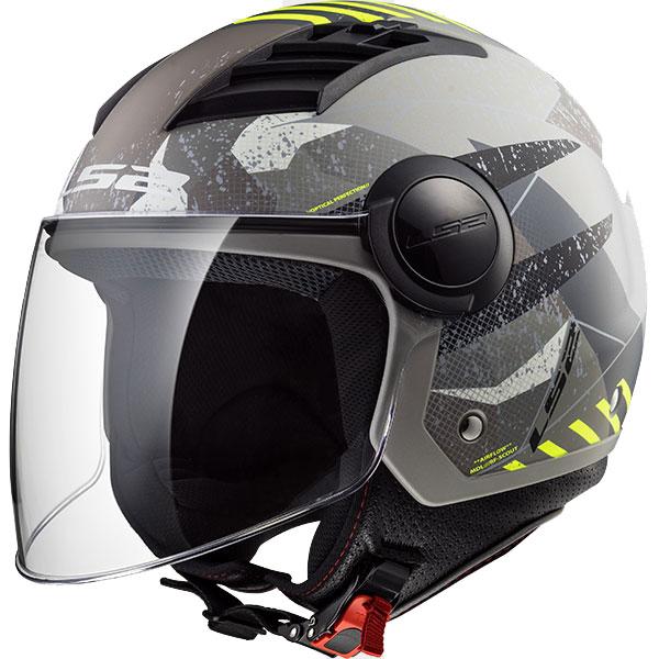 Ls2 Airflow Camo Açık Motosiket Kaskı