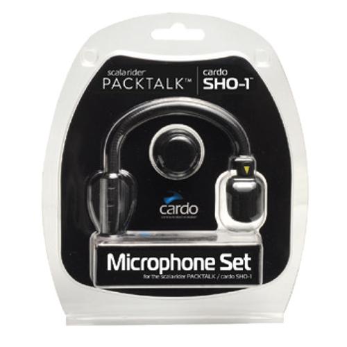 Cardo Spsh0002 Mikrafon Set (Packtalk - Smartpack - Freecom - Sho-1)