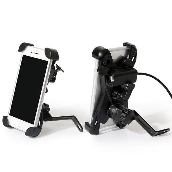 Vexo USBLI Telefon Tutucu Ayna Bağlantılı (AÇIK)