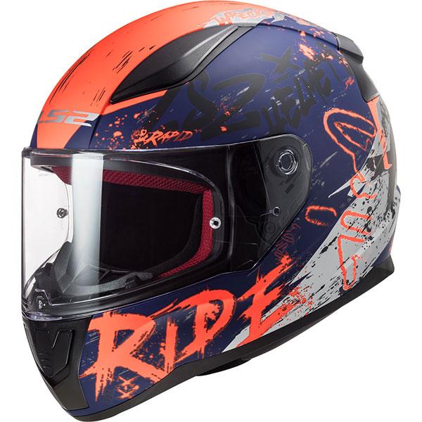 Ls2 Rapid Naughty Full Face Motosiklet Kaskı