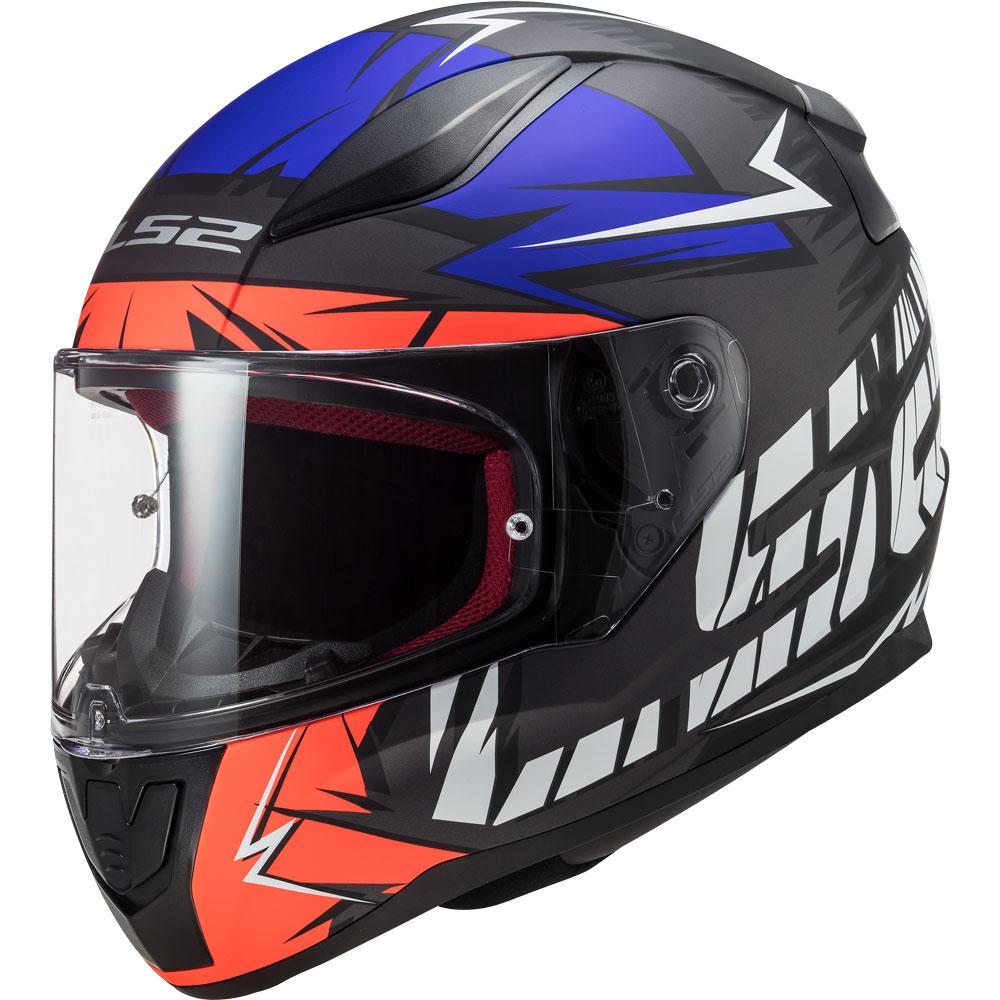 Ls2 Rapid Cromo Full Face Motoisklet Kaskı