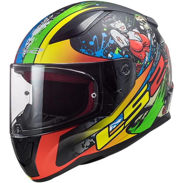 Ls2 Rapid Fiesty Full Face Motosiklet Kaskı