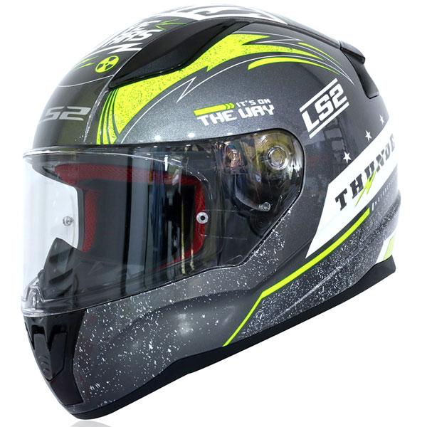Ls2 Rapid Thunder Full Face Motoisklet Kaskı