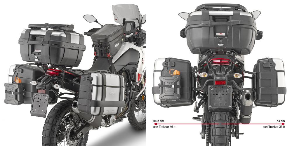 Givi PLO2145MK Yamaha Tenere 700 (19-20) Yan Çanta Taşıyıcı