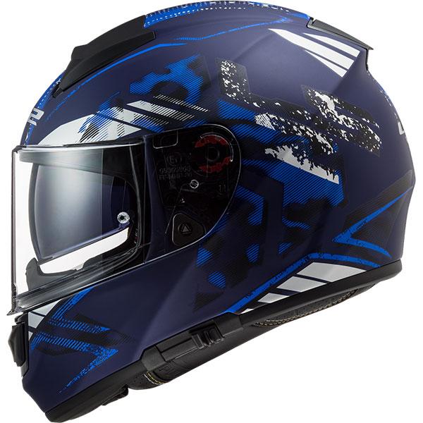 Ls2 Vector Stencil Full Face Motosiklet Kaskı