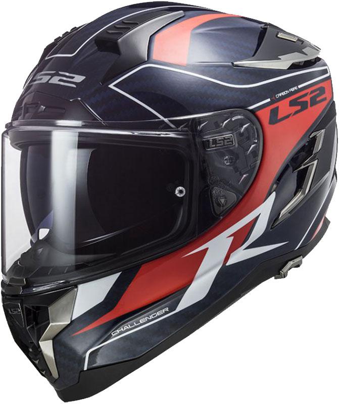 Ls2 Challenger C Grid Karbon Full Face Motosiklet Kaskı