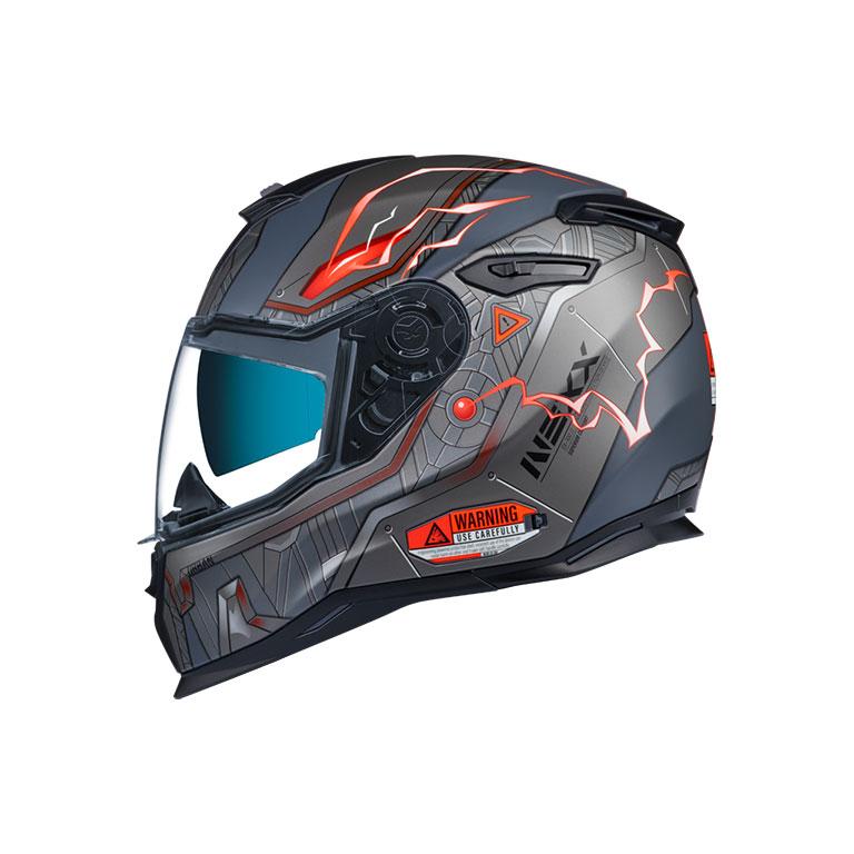 NEXX SX.100 Gigabot Full Face Motosiklet Kaskı