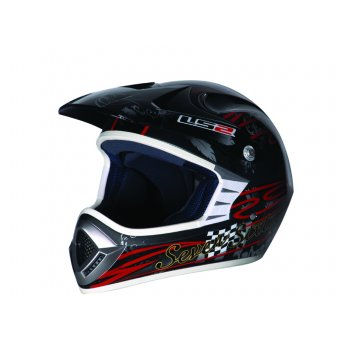 LS2 MX426 DREAM MAKER SIYAH KASK