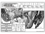 GIVI TNH2130 YAMAHA MT-07 TRACER (16-17) ÜST KORUMA DEMIRI