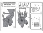 KAPPA KTB55 YAMAHA X-MAX 125-250 (10-13) SISSYBAR