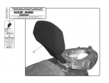 KAPPA KTB114 SUZUKI BURGMAN 125-150 (02-04) SISSYBAR