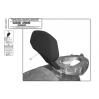 KAPPA KTB531 SUZUKI BURGMAN 400 (06-16) SISSYBAR