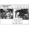 KAPPA KN452 HONDA CBF 1000 - ABS (06-09) KORUMA DEMİRİ