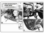 KAPPA KN456 HONDA CBF 600S - 600N (08-12) KORUMA DEMIRI