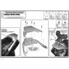 KAPPA KTB19 HONDA SILVERWING - SW-T 400-600 (01-16) SISSYBAR