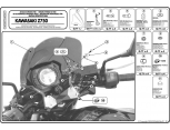 GIVI A448A KAWASAKI ER-6N 650 (09-11) RÜZGAR SIPERLIK BAGLANTISI