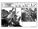 KAPPA AS122A2 HONDA VT 750 S (10-15) RÜZGAR SIPERLIK BAGLANTISI