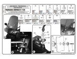 KAPPA A288A YAMAHA BWS 125 (10-15) RÜZGAR SIPERLIK BAGLANTISI