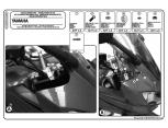 KAPPA D2123KIT YAMAHA N-MAX 125 (15-17) RÜZGAR SIPERLIK BAGLANTISI