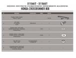 KAPPA A307AK HONDA SH 300I (07-10) RÜZGAR SIPERLIK BAGLANTISI