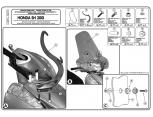 GIVI D1163KIT HONDA PCX 125 (18-19) RÜZGAR SIPERLIK BAGLANTISI