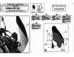 KAPPA D1104KITK HONDA VFR 800X CROSSRUNNER (11-14) RÜZGAR SIPERLIK BAGLANTISI