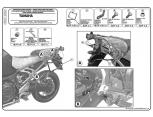 KAPPA KLXR2130 YAMAHA MT-07 TRACER (16-17) YAN ÇANTA TASIYICI