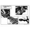 KAPPA KLX359 YAMAHA FZ1 1000 - FZ1 FAZER 1000 (06-15) YAN ÇANTA TASIYICI