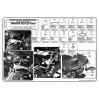 KAPPA KLX351 YAMAHA FZ6 - FZ6 600 FAZER (04-07) YAN ÇANTA TASIYICI
