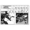 KAPPA KL351 YAMAHA FZ6 - FZ6 600 FAZER (04-07) YAN ÇANTA TASIYICI