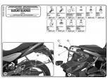 KAPPA KLX3112 SUZUKI DL 650 V-STROM (17) YAN ÇANTA TASIYICI