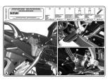 KAPPA KLX532 SUZUKI DL 650 V-STROM (04-11) YAN ÇANTA TASIYICI