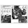 KAPPA KLX539 SUZUKI GSX 650 -1250 - GSF 650-1250 (07-16) YAN ÇANTA TAŞIYICI