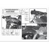 KAPPA KLX538 SUZUKI GSR 600 (06-11) YAN ÇANTA TAŞIYICI