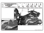 KAPPA KL3101 SUZUKI DL 650 V-STROM (11-16) YAN ÇANTA TASIYICI