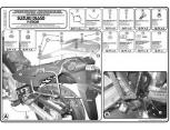 GIVI PLX528 SUZUKI DL 1000 V-STROM (02-11) KAWASAKI KLV 1000 (04-10) YAN ÇANTA TASIYICI