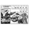 KAPPA KL528 SUZUKI DL 1000 V-STROM (02-11) - KAWASAKI KLV1000 (04-10) YAN ÇANTA TASIYICI