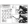 KAPPA KLX449 KAWASAKI ER-6N - ER-6F 650 (09-11) YAN ÇANTA TAŞIYICI