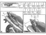 HIGHWAY HAWK 664-022 HEYBE DEMIRI KAWASAKI VN800 VULCAN