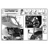 KAPPA KL177 HONDA XL 1000 VARADERO - ABS (07-12) YAN ÇANTA TASIYICI