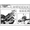 KAPPA KL256 HONDA CB900 HORNET (02-07) YAN ÇANTA TAŞIYICI