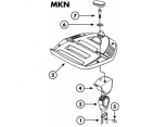 KAPPA K553N UNIVERSAL ALT TABLA (MONOKEY)