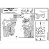KAPPA KR3700 YAMAHA X-MAX 125-250 (10-13) ARKA ÇANTA TAŞIYICI