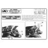 KAPPA KR45 YAMAHA T-MAX 500 (01-07) ARKA ÇANTA TASIYICI