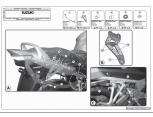 GIVI SR3104 SUZUKI BURGMAN 650 - 650 EXECUTIVE (02-19) ARKA ÇANTA TASIYICI