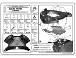 KAPPA KR3103 SUZUKI INAZUMA 250 (12-16) ARKA ÇANTA TASIYICI