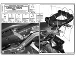 KAPPA KZ447 KAWASAKI VERSYS 650 (06-09) ARKA ÇANTA TAŞIYICI