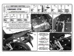 KAPPA KZ449 KAWASAKI ER-6N - ER-6F 650 (09-11) ARKA ÇANTA TASIYICI